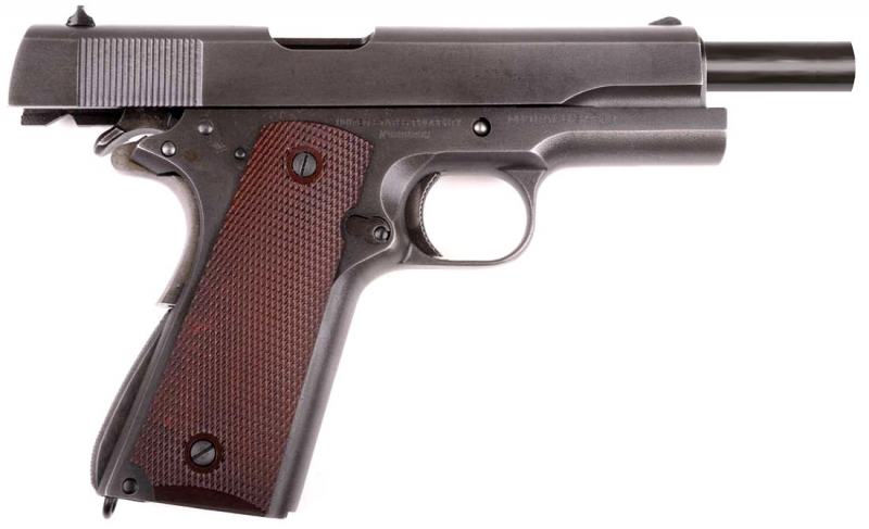 Art.: 10210, INOKATSU COLT M1911 A1 Vollstahl 6mm GBB / CO2