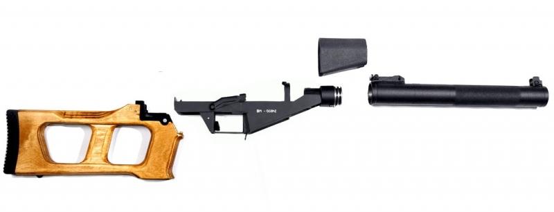 Art.: 55000, VSS Vintorez Vollstahl Airsoft 6mm S-AEG NPOAEG