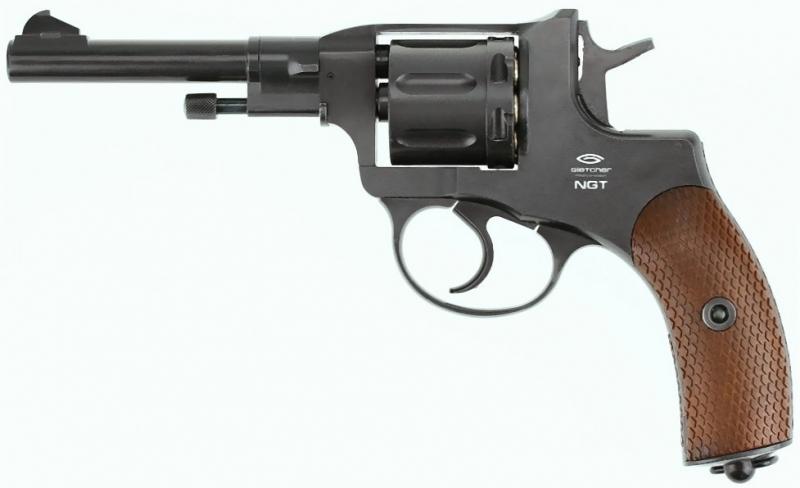 Art.:10477, Nagant M1895 Revolver 4,5mm CO2 Russische Legende