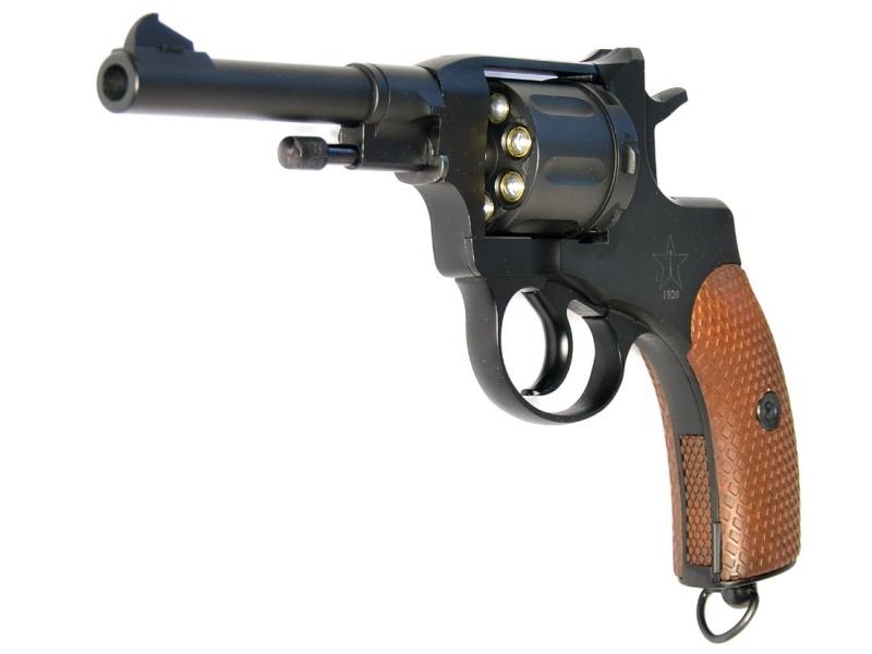 Art.:10480-S, Nagant M1895 Revolver 6mm CO2 Russische Legende