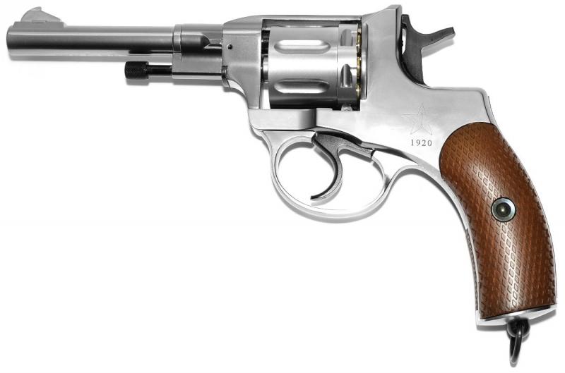 Art.:10481-S, Nagant M1895 Revolver 6mm CO2 Russische Legende