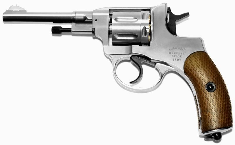 Art.:10481-B, Nagant M1895 Revolver 6mm CO2 Belgische Legende
