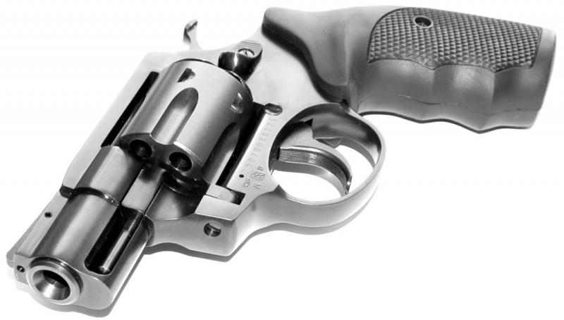 Art.: 10482-2'' Lauf, STEEL COP Vollstahl Revolver 9mm R Knall