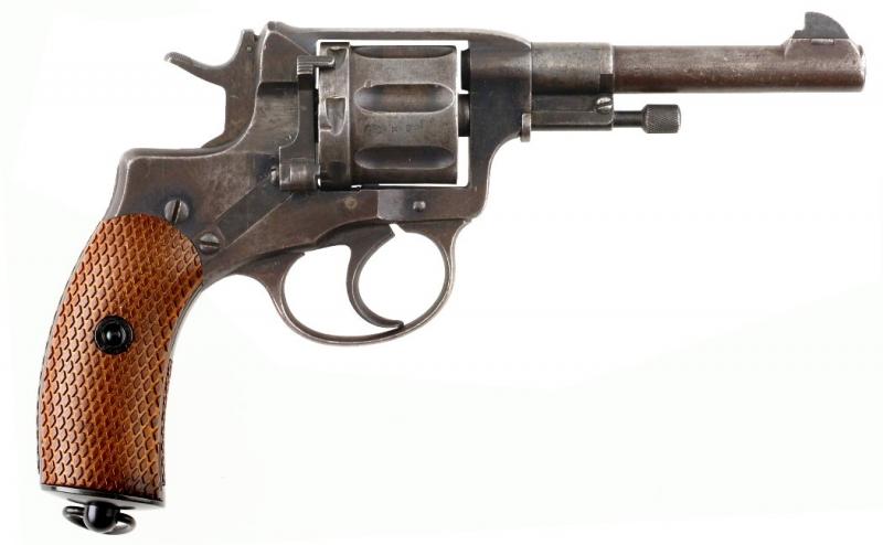 10480-T-BF, Nagant M1895 Revolver 6mm CO2 TULA Battlefield
