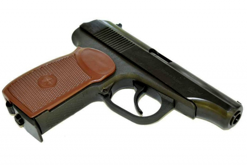 Art.: 10205-7-SD Makarov CO2 MP654K mit Gewinde Vollstahl Baikal