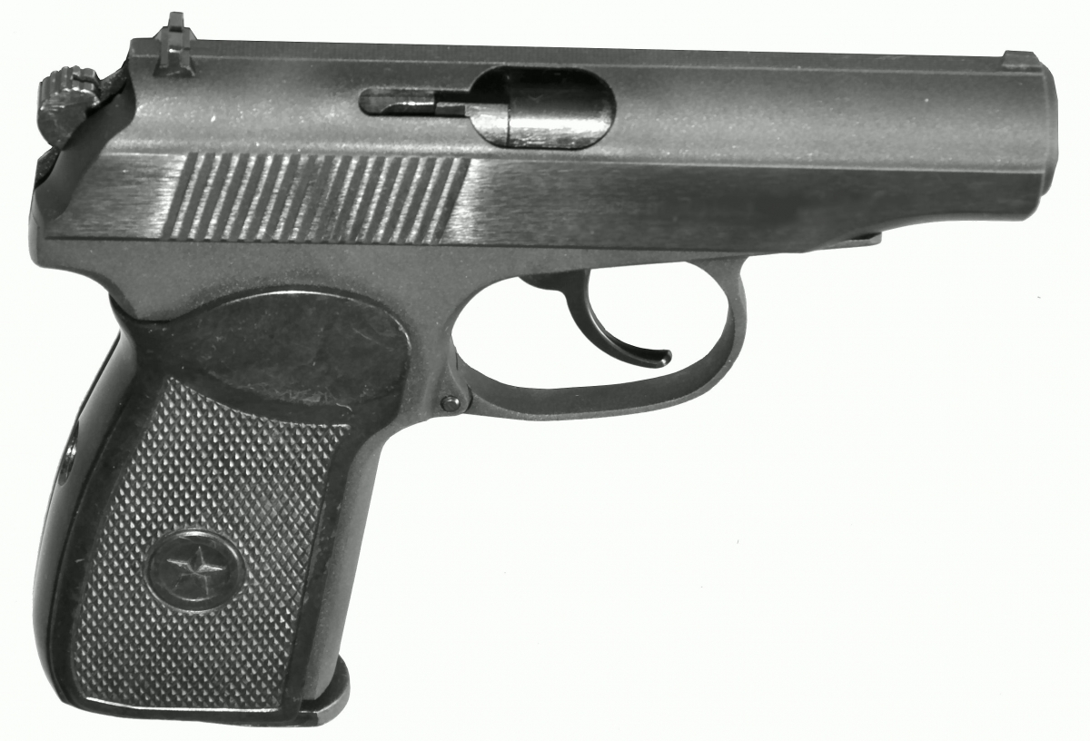 Makarov CO2 MP654K-59 GEN5 Original CNC Pistole Schwarz