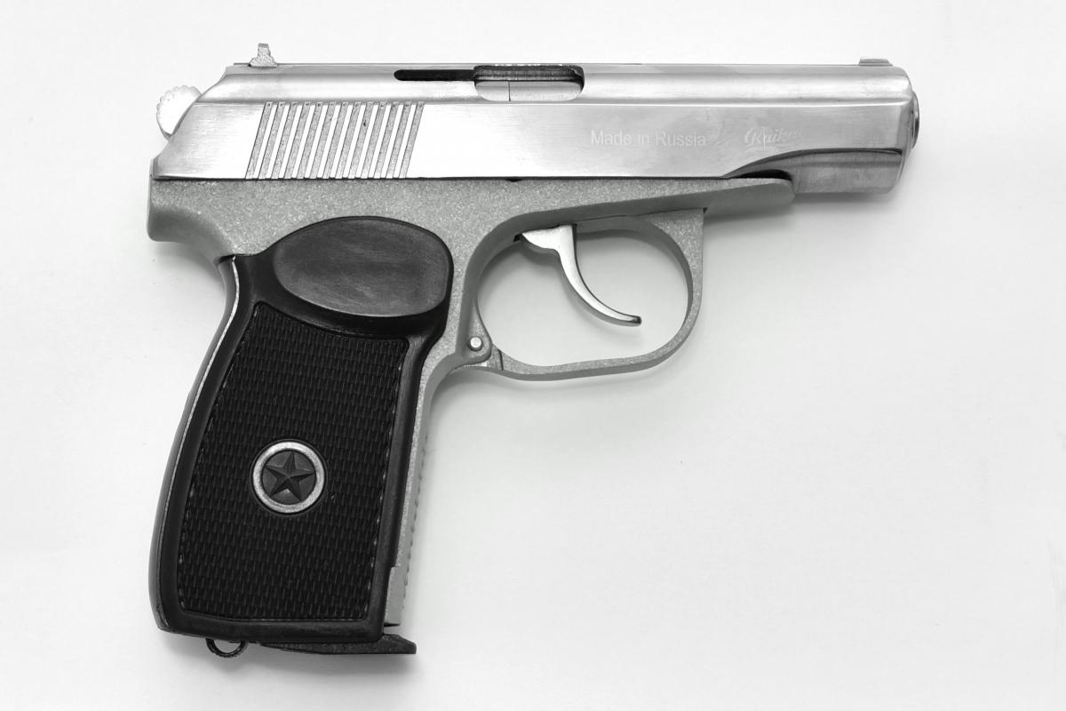 Baikal MP654K-5.2 Serie 88 Edelstahl CNC Makarov 4,5mm CO2 Pistole