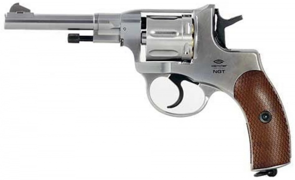 Nagant M1895 Revolver 4,5mm CO2 Nickel