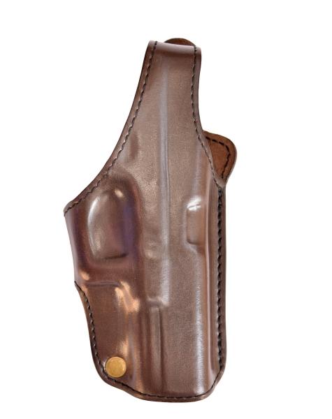 Lederholster / Gürtelholster braun für BG17 PTB-934