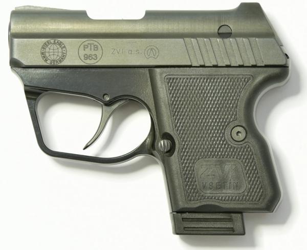 STEEL EAGLE (Z) CNC Pistole 9mm PAK aus Stahl PTB-963 Black Grip