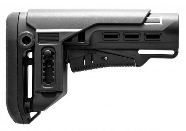 GERMANTAC Mil.-Spec. Stock black for Shotgun, AR15, AK47 and more