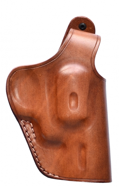 """Holster leather for 2"""" STEEL COP & DOG Revolvers"""