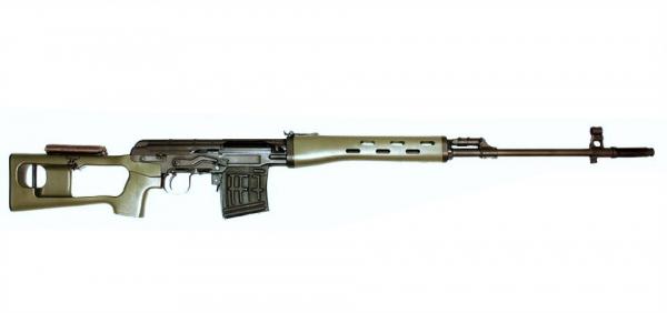 Vimpel SVD GasBlowBack 6mm Airsoft, OLIV, GBB