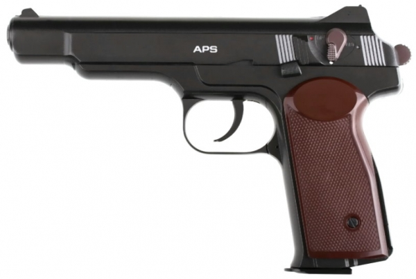 APS Stetschkin 4,5mm CO2 GBB Russische Legende
