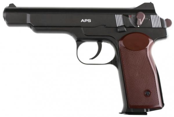 APS Stetschkin 4,5mm CO2 GBB Russian legend
