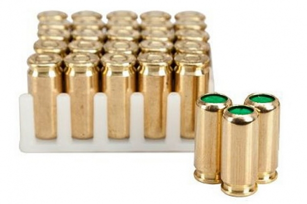 KNALLPATRONEN, 9 mm P.A.K. für Pistolen