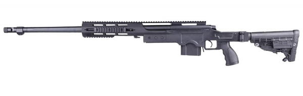T5005 CNC Snipergewehr schwarz 6mm BB
