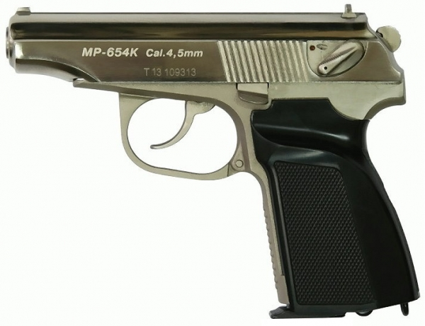 Makarov CO2 MP654K CHROME top limitiert