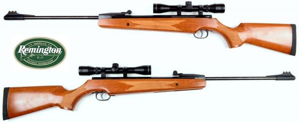 LGW REMINGTON Gewehr .177 4,5mm, Echtholz