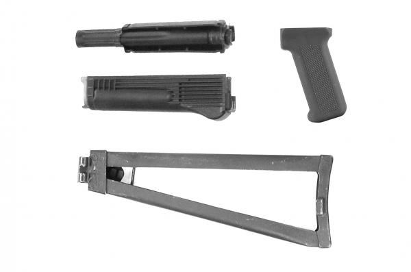AK74MS AK100 AK105S Saiga Cugir Yunker Schaftsatz aus Polymer