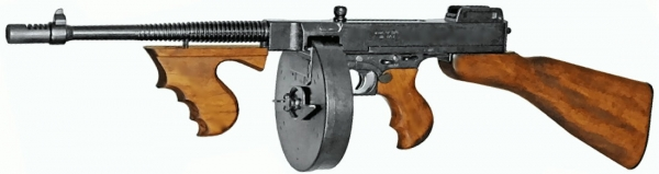 US Thompson M1928 Chicago Modellwaffe