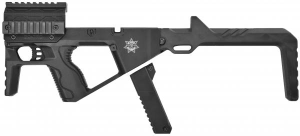 BGSW TAC BULLPUP Kit schwarz für STEEL WOLF & BG17 & BG26 & GAP & MiniGAP