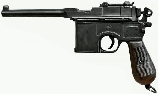 Pistole C96 Mauser Legende Modellwaffe