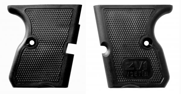 Griffschalen mit ZVI Logo für STEEL EAGLE