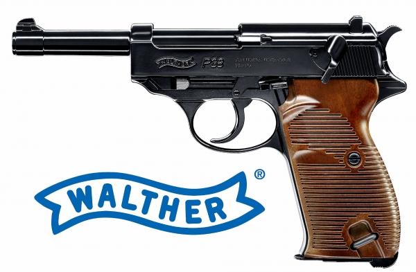 P38 Walther 4,5mm CO2 BlowBack Air Gun