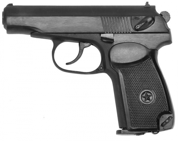Makarov CO2 MP654K-59 GEN5 Original CNC Pistol Black