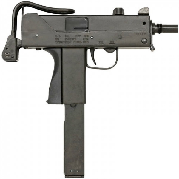 MP M11 Ingram model gun without Suppressor