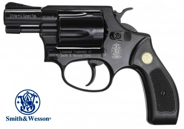 S&W Chiefs Special Revolver 9mm R Blank Firing