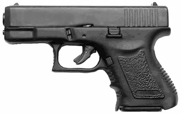 BG26 GEN2.3 9mm P.A.K. Schreckschuss SCHWARZ