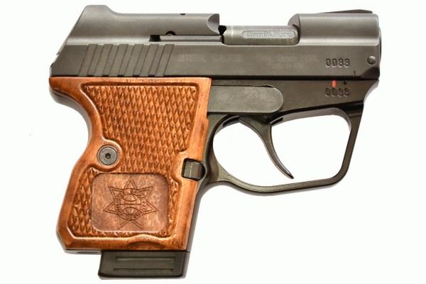 STEEL EAGLE 9mm PAK mit Holzgriff SSW KNALL