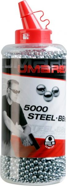 Heavy Steel BBs 4,5mm for Airguns 5000 Pieces