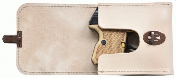 Belt bag / holster leather for STEEL EAGLE