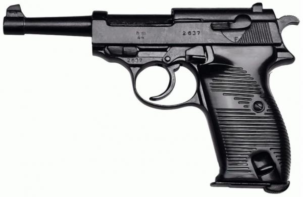 WH Modell P38 Vollmetall Modellwaffe