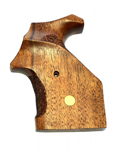 Wooden Sports Grip with Coin for STEEL COP & DOG Revolver