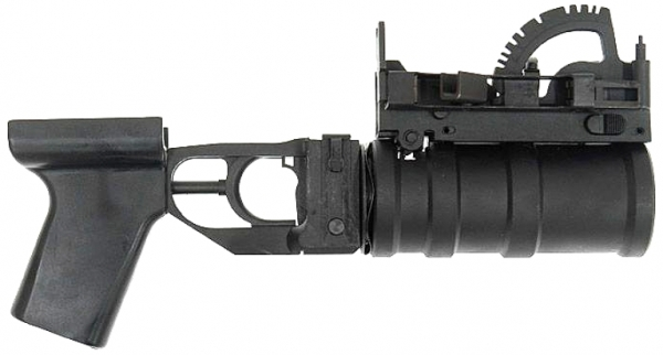 Full Steel GP30 Grenade Launcher & Airsoft Grenade