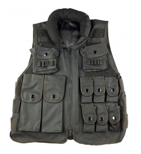 Tactical vest Police black
