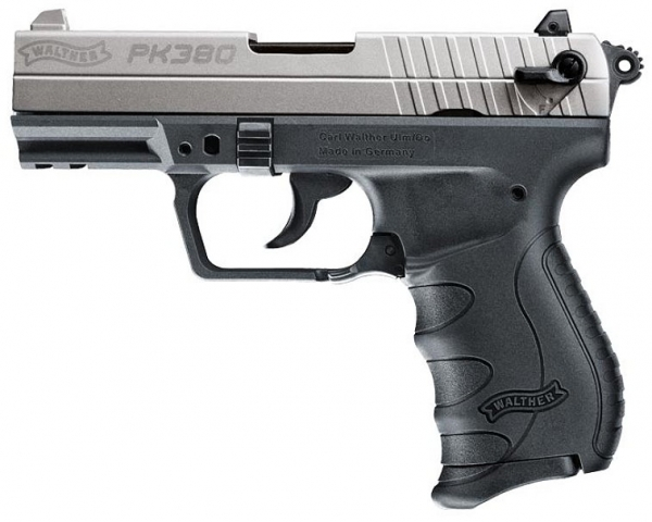 Walther PK380 9mm P.A.K. blank full steel Chrome