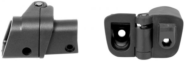 GERMANTAC Klapp Adapter in schwarz für Schäfte