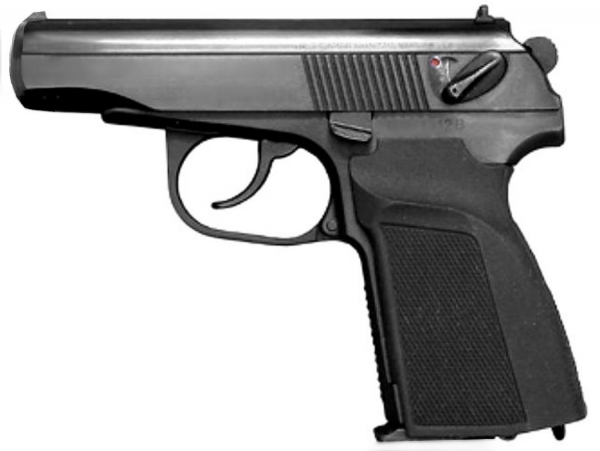 Makarov Baikal CO2 MP654K Russ. Pistole aus Stahl