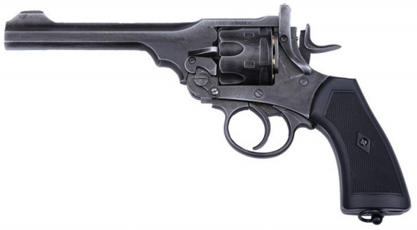 Webley .455 MK VI Service Revolver - CO2 4,5mmBB