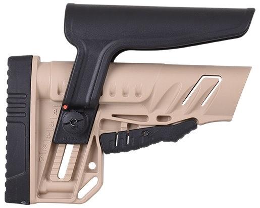 GERMANTAC Z Schaft für Shotgun, AR15, AK47...74, TAN