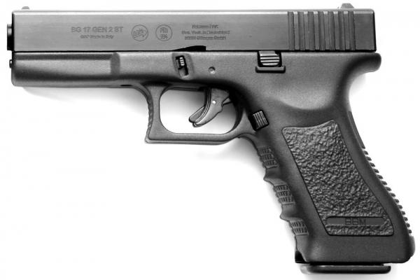 BG17 ST GEN2.6 STEEL Slide 9mm P.A.K. blank gun