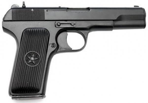 TT33 Tokarew Vollmetall FireCaps Modellpistole PFC Hudson