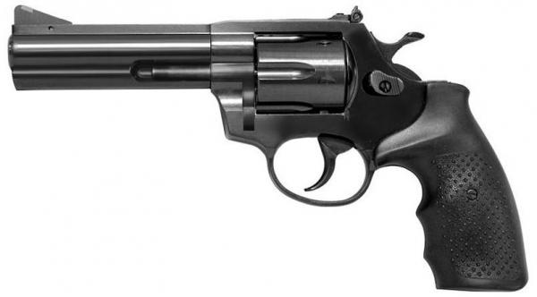 STEEL COP 4'' TAC Full Steel Revolver 9mm R Blank
