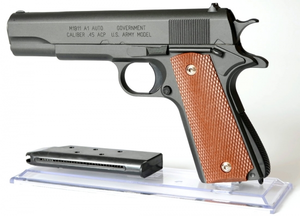 US Government M1911 A1 Vollmetall 6mm SPRING