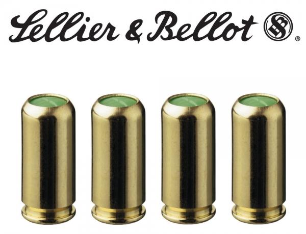 SELLER BELLOT BLANK FIRING CARTRIDGES, 9 mm PAK for Pistols
